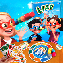 Liar Game Stretch The Truth And Your Nose May Grow Board Game Puzzle Toy For Family Children With English Instructions #E(China)