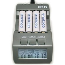 2017 Hot selling Opus BT-C700 NiCd NiMh LCD Digital Intelligent  AAA 14500 AA Battery Charger Updated From BM110 EU US Adapter