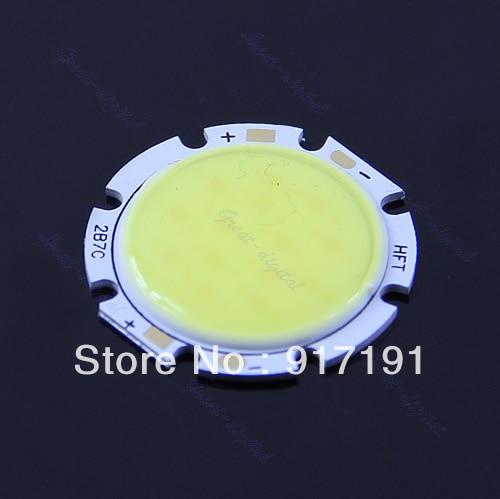 7W Pure White Round COB LED SMD Light Lamp Bulb DC 24V 6000-6500K 560~630LM<br><br>Aliexpress