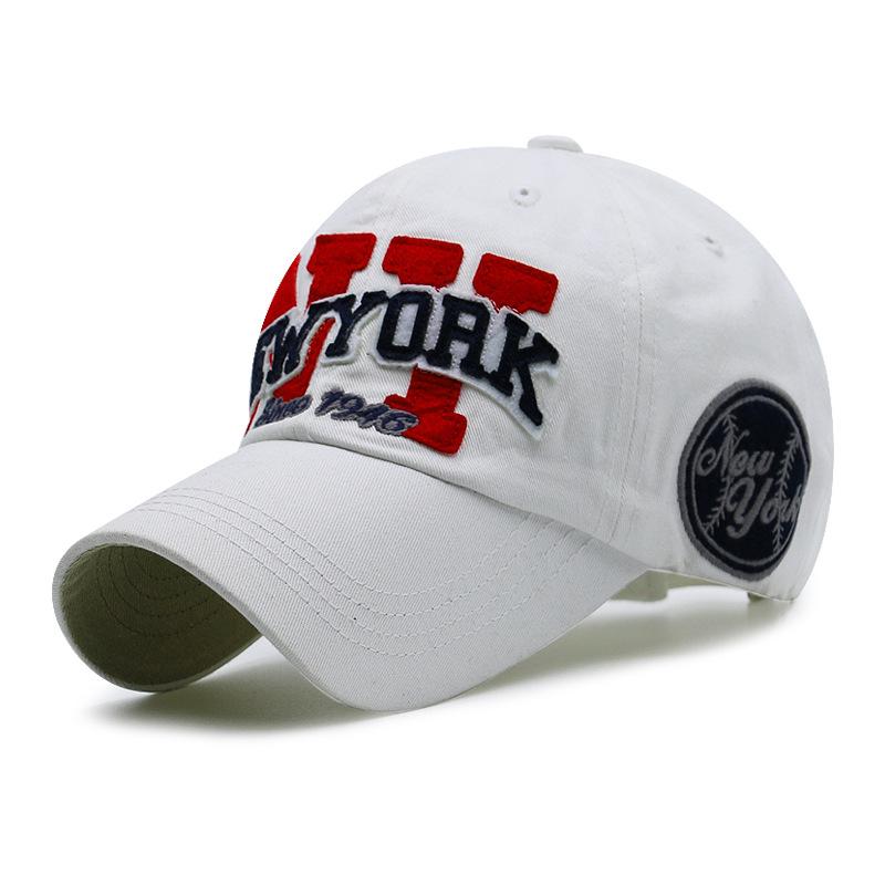 SNP Black white New York baseball cap bone snapback cap brand baseball cap gorras Black hats for men ny casquette hat wom 7