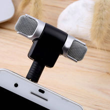 Mini Stereo Microphone Record Mic 3.5mm for PC Laptop Notebook MP3/4 Cellphone