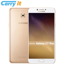 Global Firmware Samsung Galaxy C7 Pro 2017 c7010 4G RAM 64G ROM 5.7'' FHD Super AMOLED 16MP 3300mAh NFC Smartphone(China)