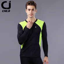 Buy 2017 Thermal Sports Underwear Long Sleeve Compression Tight Running Jersey Gym Fitness Shirts Men's Cycling Base Layer for $10.66 in AliExpress store