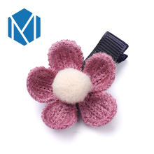 M MISM 1PC NEW Fashion Hair Accessories For Women The Flower Hair Clip Floral hairpin for hair Girls Decorations Jewelry(China)