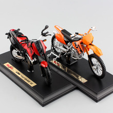 1:18 scale kids motorcycle KTM 525 SX 640 Duke II diecast model motorbike metal models race car toys collectibles gift for boys(China)