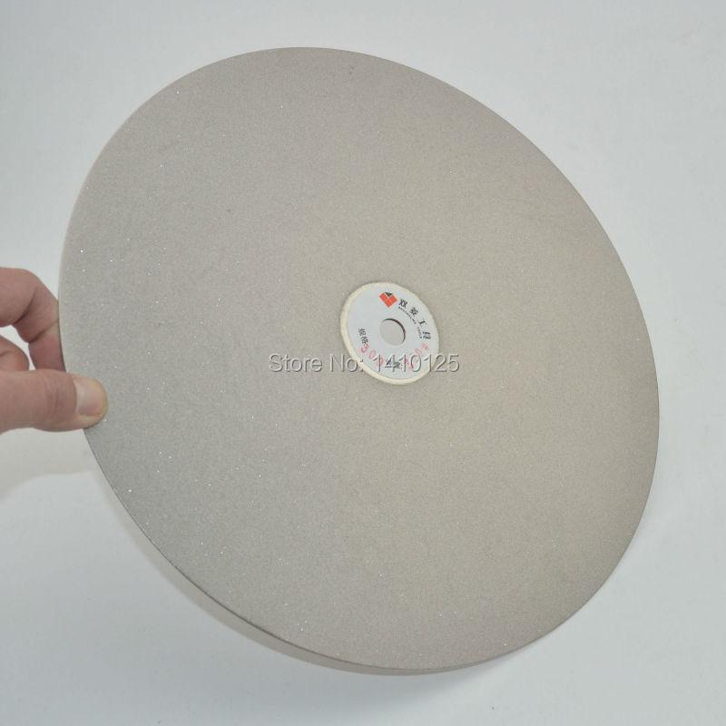 12 inch 300mm Grit 320 Medium Diamond coated Flat Lap Disk Grinding Polishing Wheel for Jewelry Glass Rock<br><br>Aliexpress