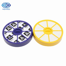 Front / Back HEPA Filter Kit Pre-motor Filter Purple HEPA Allergy Filter Vacuum Cleaner Replacement Parts For Dyson DC05 DC08