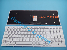 English keyboard Sony Vaio VPC-EB VPC EB pcg-71211v VPCEB36FG VPCEB4J1R White Laptop - Supplier of store