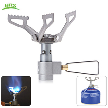 BRS - 3000T Ultra-light Camping Stove Gas Stoves Titanium Alloy Outdoor Cooker Outdoor Stove Gas Stove Miniature Portable Picnic