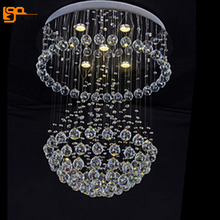 new  contemporary chandelier crystal lighting modern luster living room chandelier diameter 50cm
