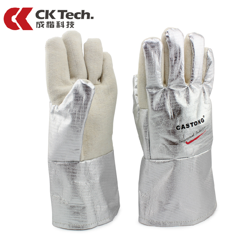 CK Tech Professional Industrial Oven Gloves Cooking Tools Grill Microwave Baking Glove Kitchen High Temperature heat proof15-34<br>