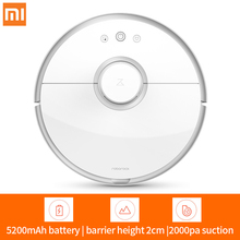 xiaomi mi roborock wireless bagless robotic vacuum cleaner 2 with battery ,mopping for cleaner ,robot vacuum cleaner for home,home vacuum cleaner,robotic vacuum cleaner(China)