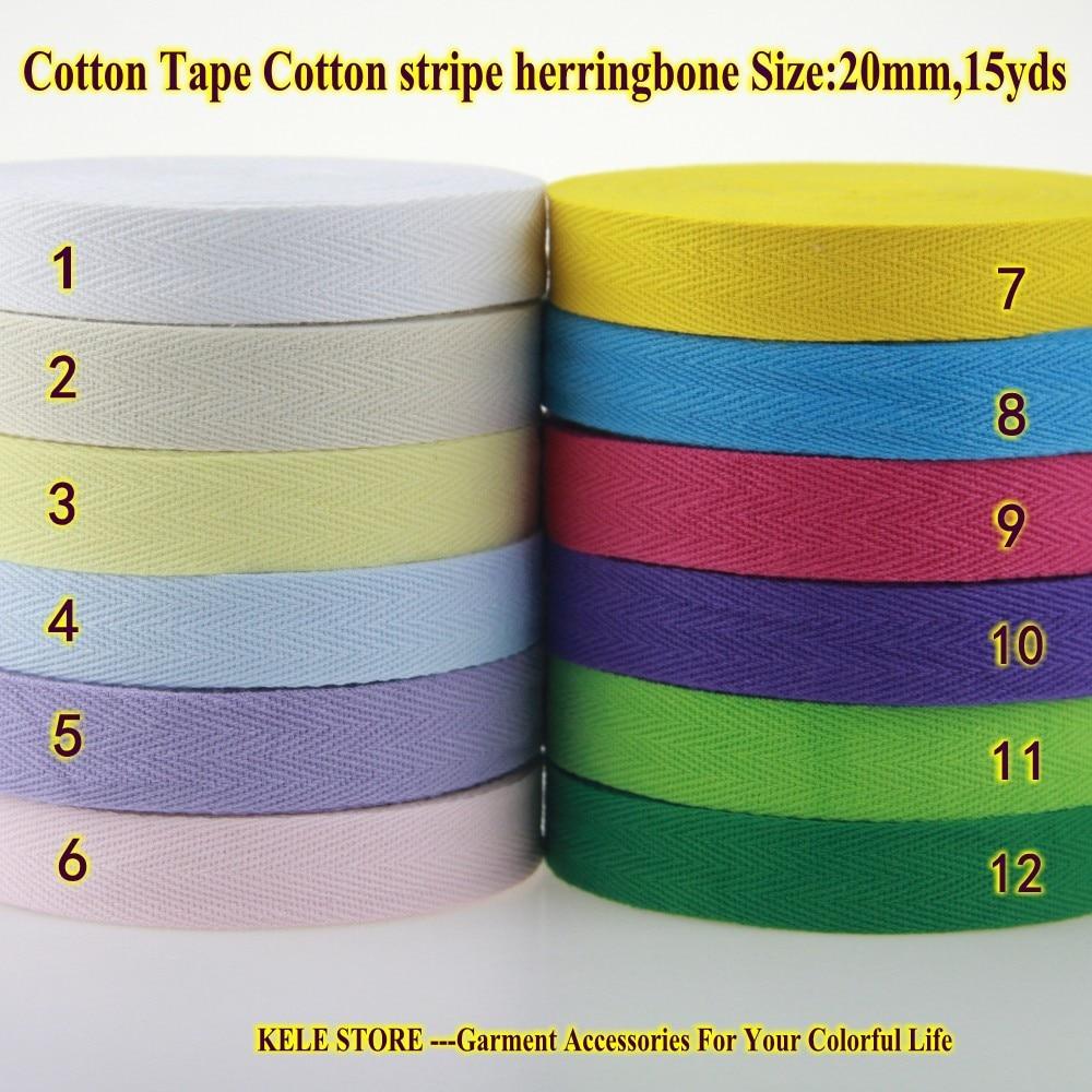 Utini 100yards//lot 3//8 10mm Color Herringbone//Twill Cotton Tape//Cotton Webbing//Bias Binding Tape