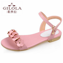 2016 new student flat women's shoes sandals flip flops women sandals ladies summer shoes woman pink best #Y0573016F