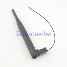 50 peice/ot 2.4Ghz 5dBi WiFi Wireless Network Router Omnidirectional Antenna With Open Cover Omni 1.13 Cable
