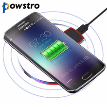 Powstrok Qi Wireless Charger 5W Charging Pad for Samsung Galaxy S6 S7 Edge Google Nexus 4/5 Lumia 920