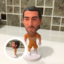 Soccer figurine sports stars 2016-2017  Buffon Movable joints resin model toy action figure dolls collectible boyfriend gift