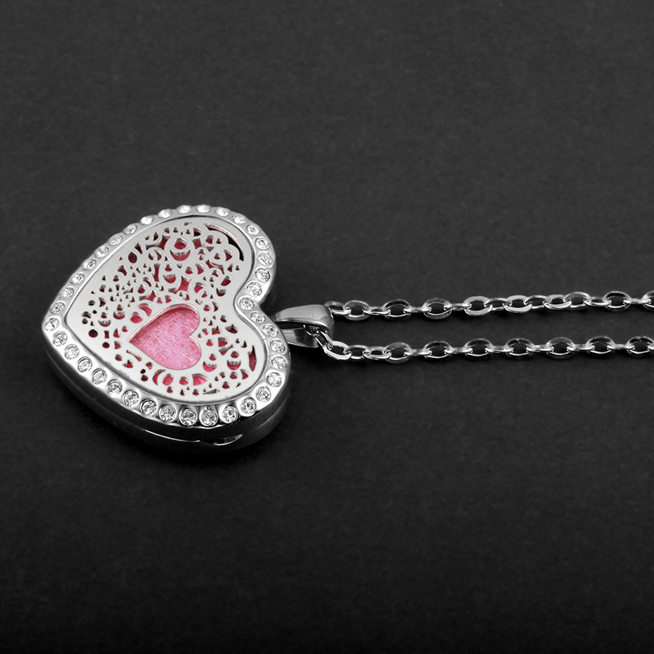 heart shaped diffuser necklace for women CV2102-1-20 (5)