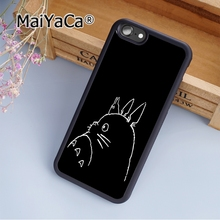 MaiYaCa My Neighbor Totoro Studio Ghibli 03 Soft Rubber cell phone Case Cover for iPhone 5 5S SE phone cover shell(China)