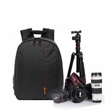 Video Photo Digital Camera Shoulders Padded Backpack Bag Case Waterproof Shockproof Small Bags for Canon Nikon DSLR
