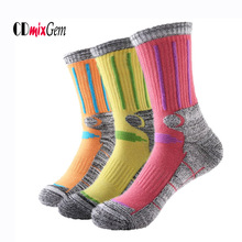 Buy Winter Thermal Ski Socks Women Cotton Spandex Sport Snowboard Socks Wearable Thermosocks calcetines de ciclismo for $12.99 in AliExpress store