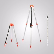 Buy Marvellous Rotary Red Laser Level 500m Range + Tripod + 5m Staff construction sites for $250.80 in AliExpress store