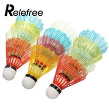 12 Pcs Portable Colorful Badminton Balls Shuttlecocks Sport Products Training Train Game Outdoor Supplies