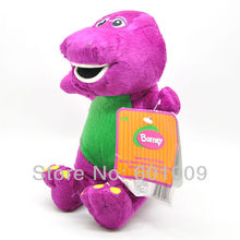 "Free Shipping EMS 100/Lot Barney Child's Best Friend 7"" Plush Doll Toy Wholesale"