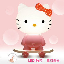 30cm Panda Hello Kitty Rabbit Frog Pig Nightlight Usb Pow Home Furnishing Resin For Children Gift Handicrafts Home Decoration