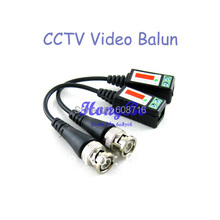 200pcs (100Pairs ) Twisted BNC CCTV Video Balun passive Transceivers UTP Balun BNC Cat5 CCTV UTP Video Balun up to 3000ft Range