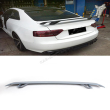 FRP Unpainted Grey Primer AP Style Rear Trunk Spoiler,Universal Auto Boot Lips For Audi  (Fit For TT 8J TTS A5 A6 A7 All 07-13 )