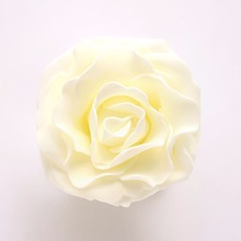 6Pcs Fake Flower Heads DIY Real Touch 3D Artificial Foam Rose Head Without Stem Bridal Wedding Shower Wedding Favor Decorations