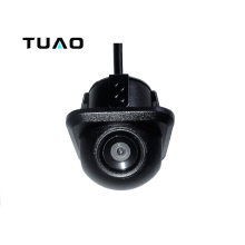 TUAO 20mm Card Hole  Vehicle Camera 140 Angle Universal Car Rear view Camera IP67 Waterproof for VW Ford Peugeot Toyota & more