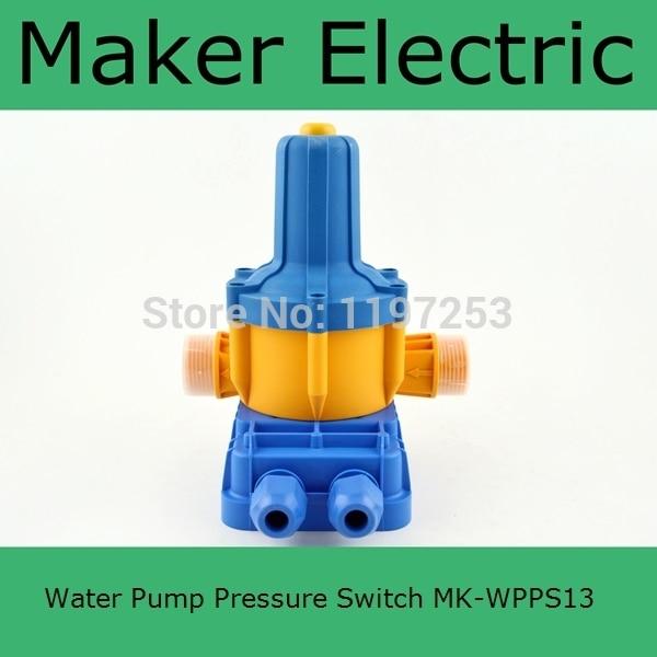 Hot Sale automatic pump  MK-WPPS13 Small Size Pressure Switch Manufacturer, Water pump pressure control switch<br>