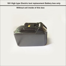 BL1860 or BL1845 electric drill replacement 18650  battery storage box and case with PCB and Nickle strip DIY tool Battery