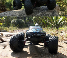 New Arrival RC Car 9115 2.4G 1:12 1/12 Scale Car Supersonic Monster Truck Off-Road Vehicle Buggy Electronic Toy(China)