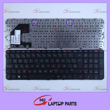 Brand new Laptop keyboards for HP Sleekbook Ultrabook Pavilion 15 15-B 15-B058SR with frame SP black notebook keyboard
