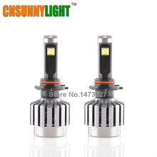 CNSUNNYLIGHT All in One Type Car Headlight Led H1 H7 H8 H11 9005 HB3 9006 HB4 Conversional Kit White 12V 24V Lights Source