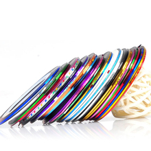 10pcs Water Transfer Nail art Stickers Striping Tape Nail Art Decoration Sticker Manicure Nail Stickers Makeup Tools Nails Decal