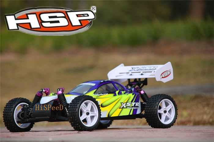 Rc Car 1/10 Scale 4wd Electric Power Road Buggy 4X4 Racing cars High Speed Hobby HSP 94107 P2