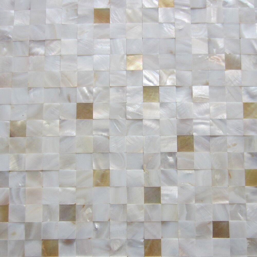 New! yellow lip 7% mixed mother of pearl tiles;backsplash kitchen ...