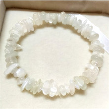 White Moonstone Crystal Bracelet Jewelry Girl Natural Stone Bracelet Wristband Charm Braclet For Female Accessories