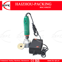 HZPK Food Saver Electric Handle Capping Machine For Beverage Bottle Sealer Household Movement Cup Sealing Machine Small Packer(China)