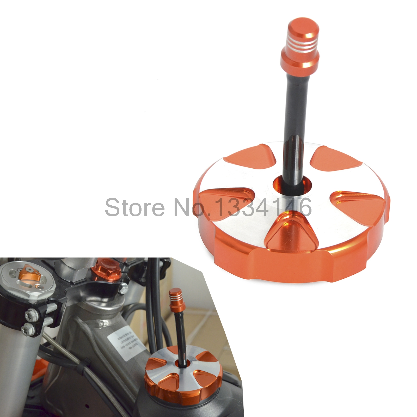 Gas Fuel Petrol Tank Cap Cover With Vent Hose For KTM 85 125 150 250 350 450 SX/SX-F 2013-2017 450 SMR 2013 2014<br>