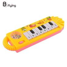 Popular 2016 Toddler Toys Musical Instrument Toy Piano Early Educational Tool Baby Piano(China)