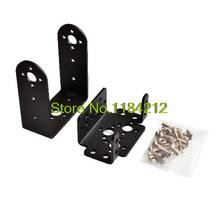 5sets Mg996 996 steering gear pan and tilt mount mechanical robot servo mount set(China)