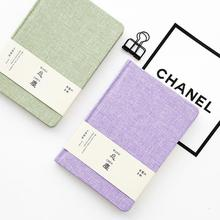 A5 Creative Cloth Hardcover Notebooks Hard Copy Small Fresh Diary School Supplies Sketchbook Travelers Planner Notebook(China)