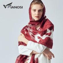 d950423ce24  VIANOSI  Été foulard en soie femmes de luxe bandana hijab broderie dames  foulards Marque