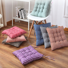 Square Buttocks Seat Chair Cushion Pads Pillow Soft Home Office Decoration Garden Indoor Dining Seat Pad 8 Colors High Quality