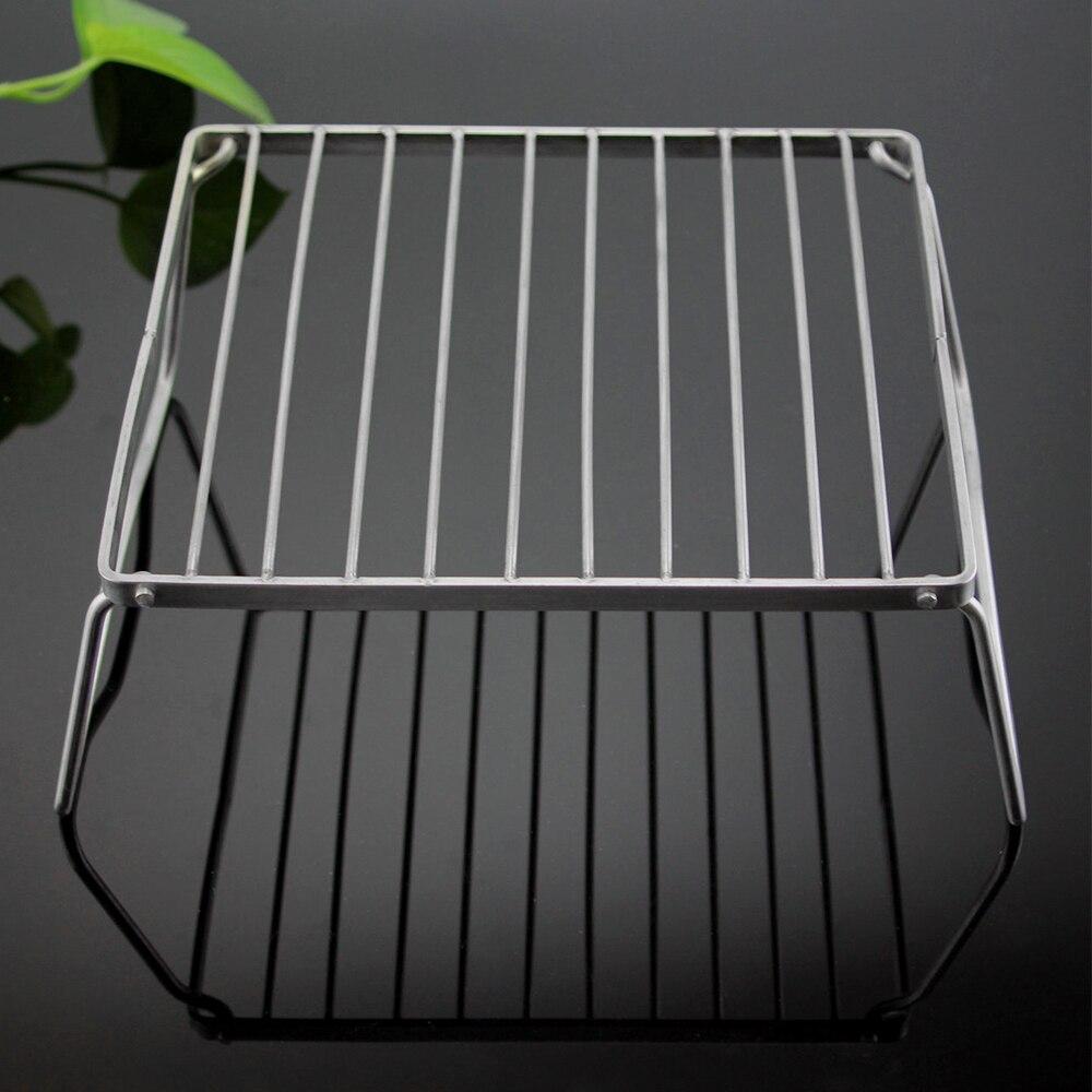 Portable Metal Garbage Bag Holder for BBQ Picnic Home Cabinet Hanging Trash